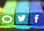 Icons of the most popular social media